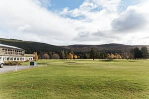 Ballater Accommodation close to golf