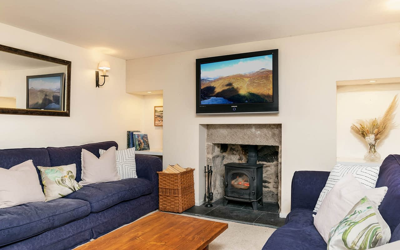 The snug is important in Self Catering Accommodation
