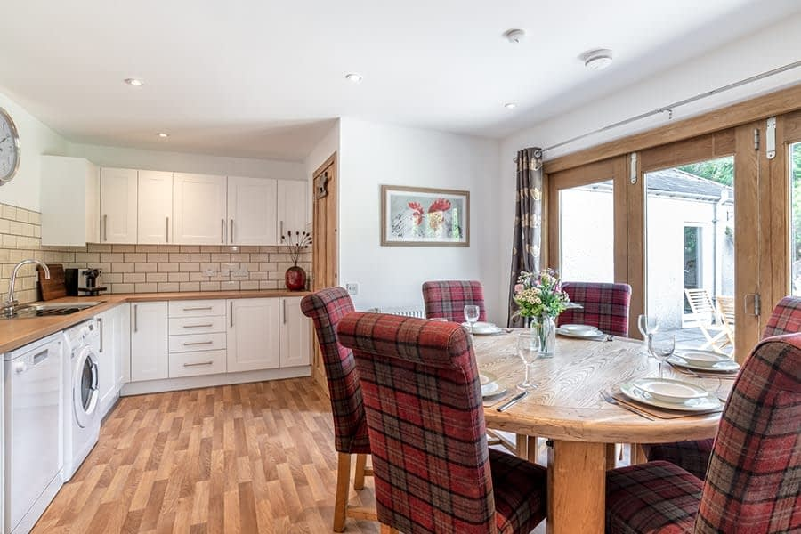 Kithcen with all amenities in Ballater