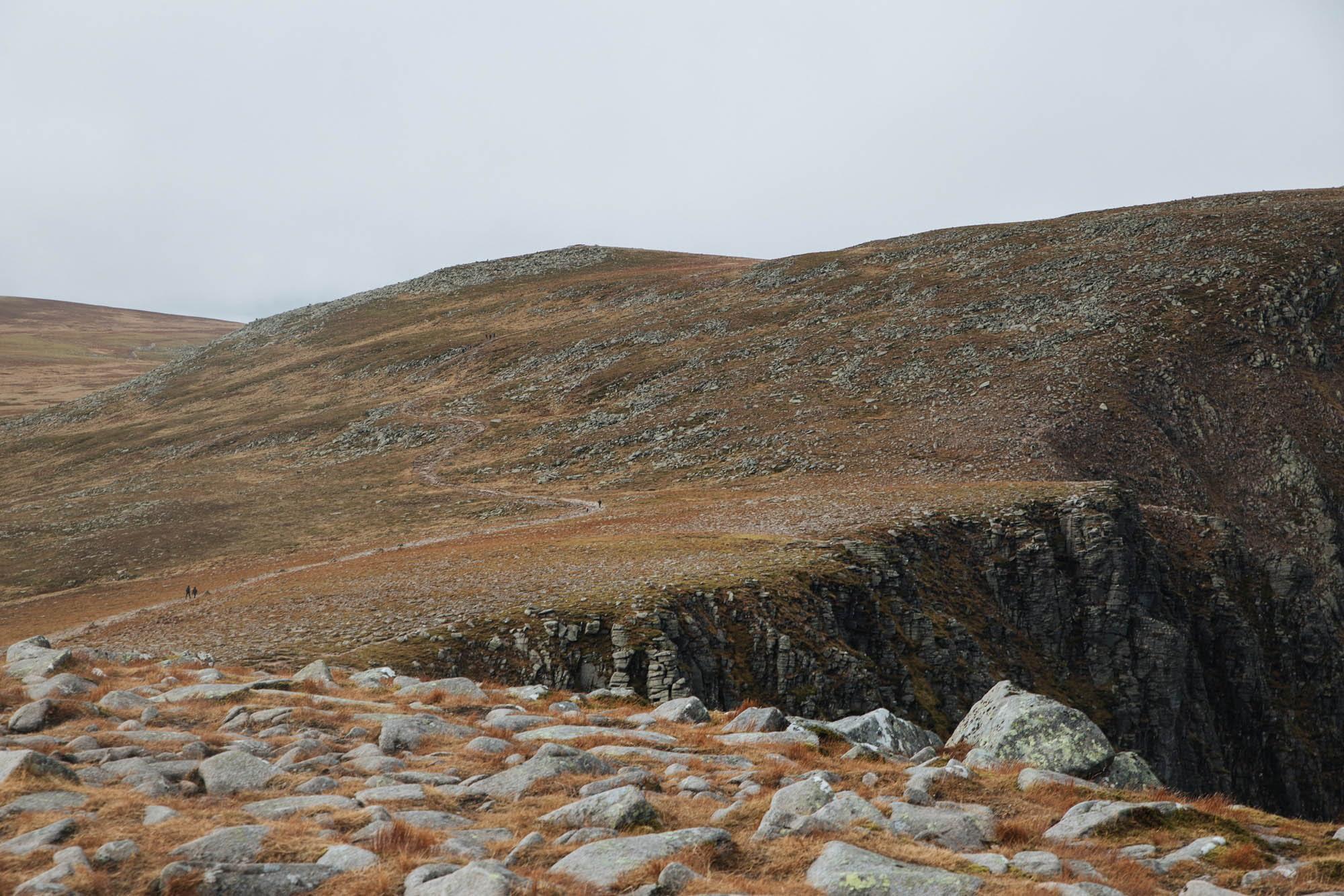 Walking in Cairngorms, Lochnagar' route