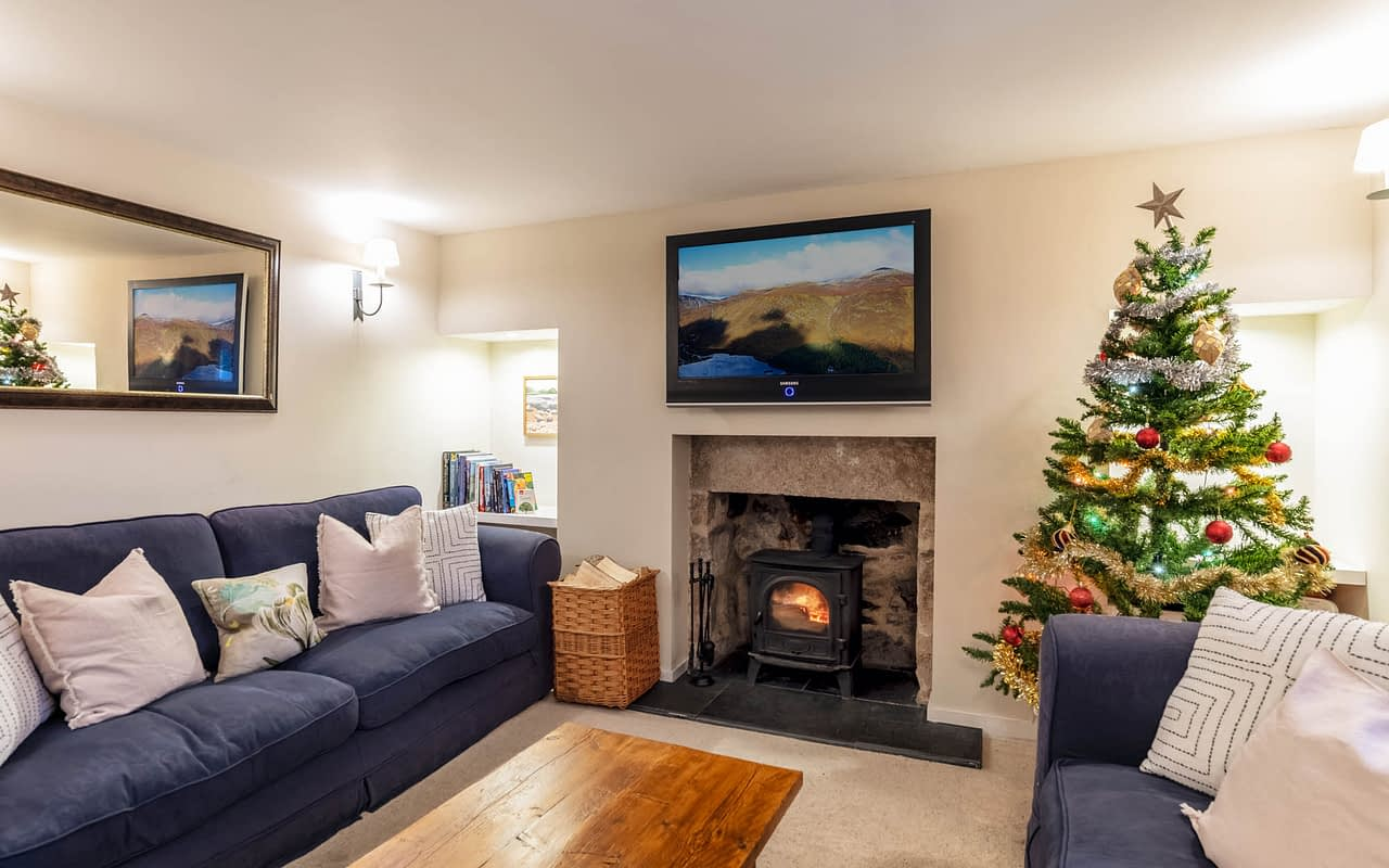 A holiday accommodation in Ballater with flat screen tv