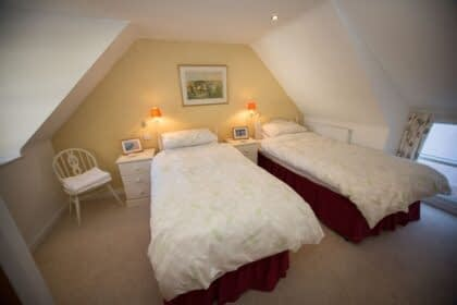 Bedroom in Riverside Cottage Ballater