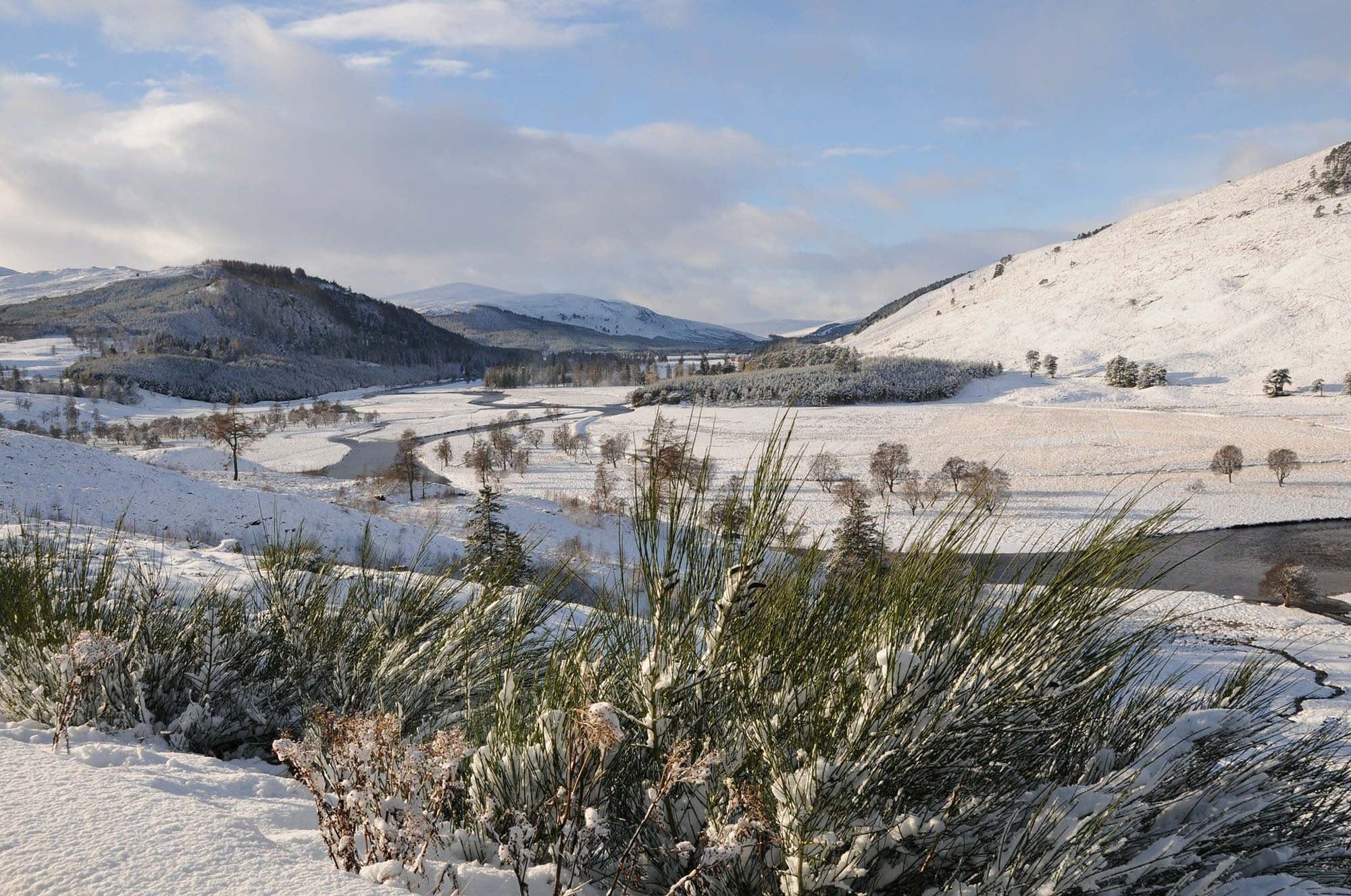 Experience the scotland in the winter