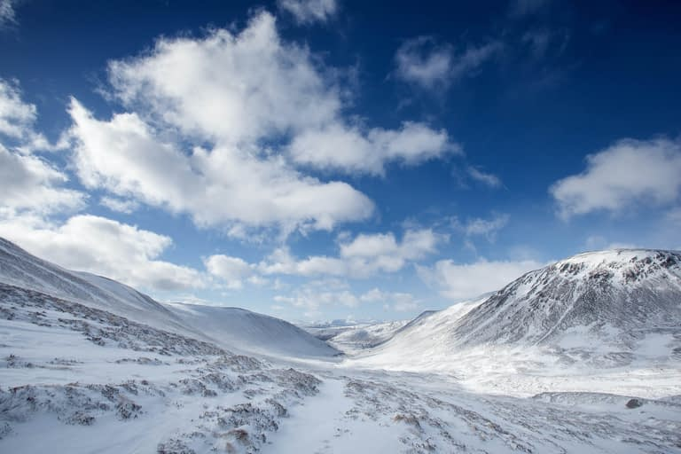 Scotland offers great skiing options