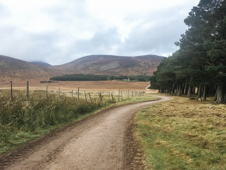 Hiking Cairngorms mountains
