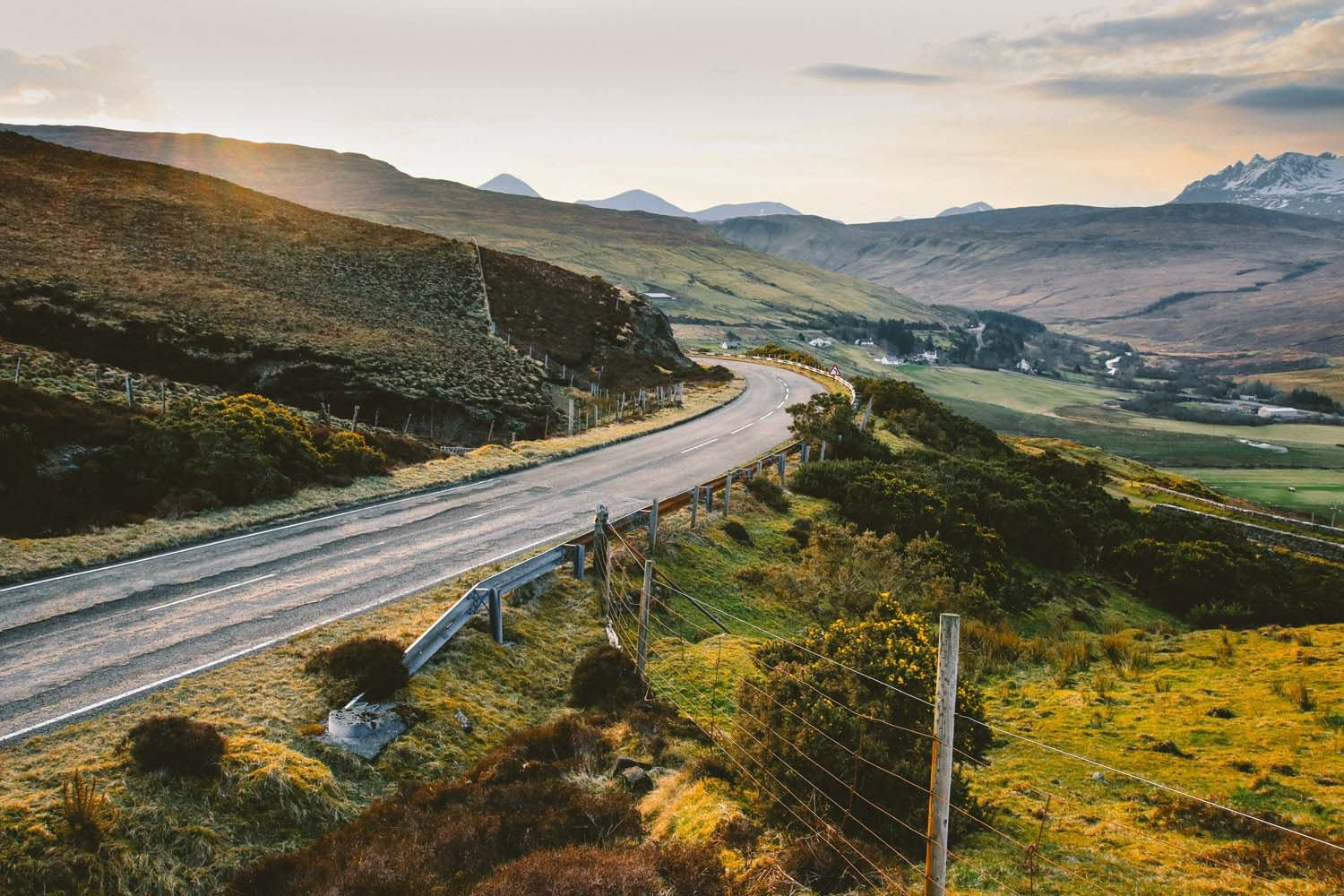 Plan you cycling route in Scotland
