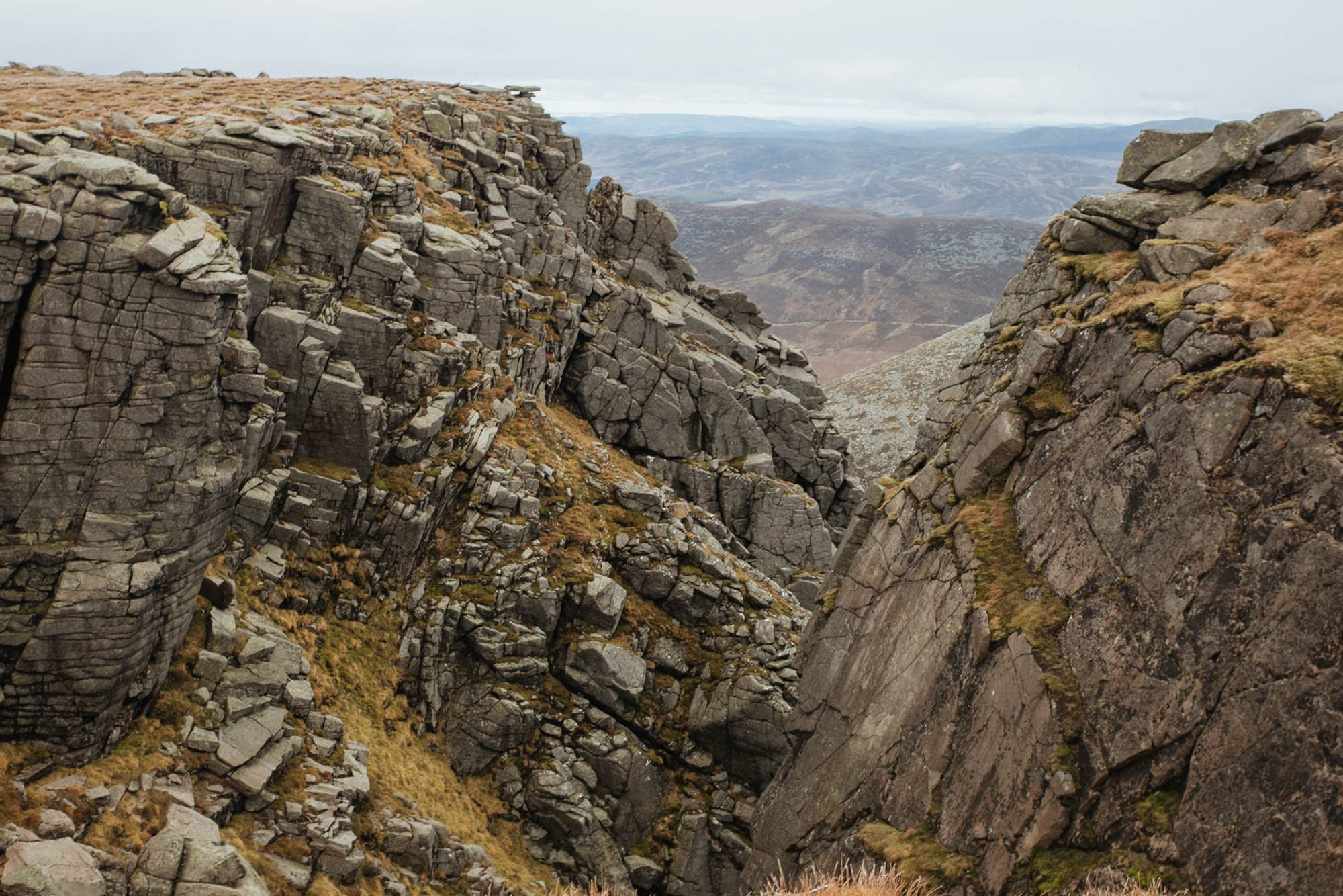 Cairngorms mountains walking routes