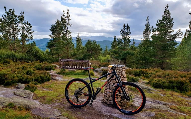 Cycling in the Cairngorms​
