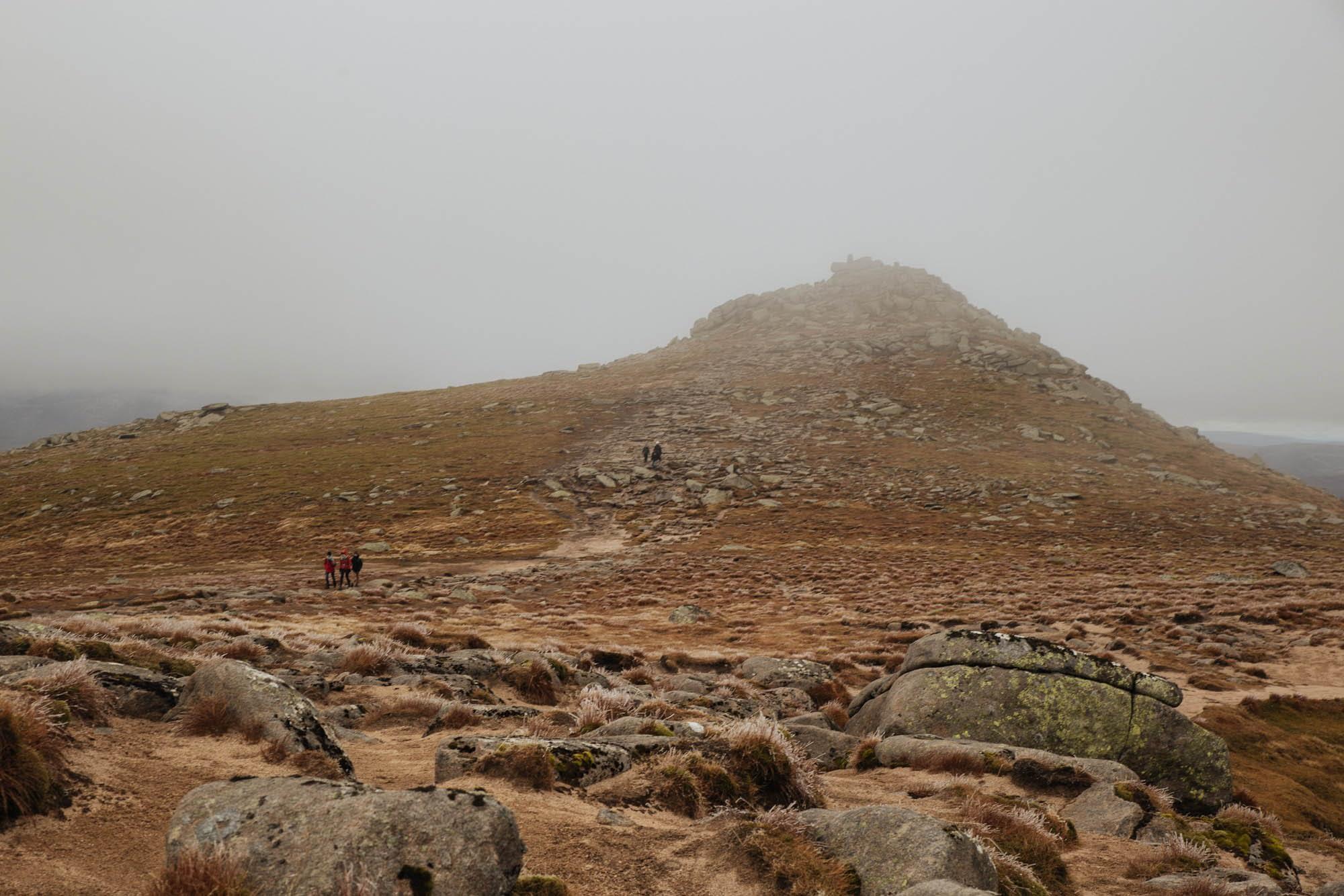 Hiking Lochnagar near Ballater, Cairngorms mountains